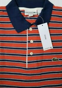 NEW-Lacoste-Men-039-s-Shirt-Size-FR-7-US-X-Large-Made-in-Peru-Designed-in-France