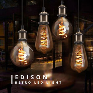 Decor Lighting E27 3w Lamp Antique Led Bulb Vintage Edison About 220v Filament Details XuiPkZO