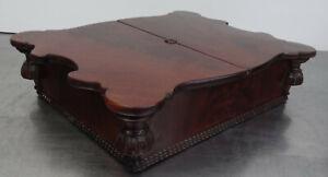Antike-Schatulle-Louis-Philip-Mahagoni-Schmuck-Kaestchen-Spaetbiedermeier-1860-80