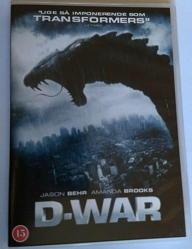 D-war, DVD, eventyr