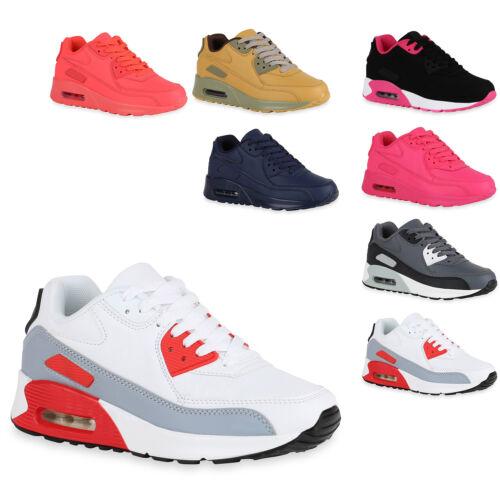 Damen Runners Laufschuhe Sportschuhe Sneakers Trendfarben 816849 Trendy Neu