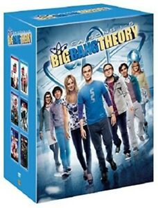 COFFRET DVD NEUF SERIE COMEDIE GEEK : THE BIG BANG THEORY : SAISONS 1 A 6