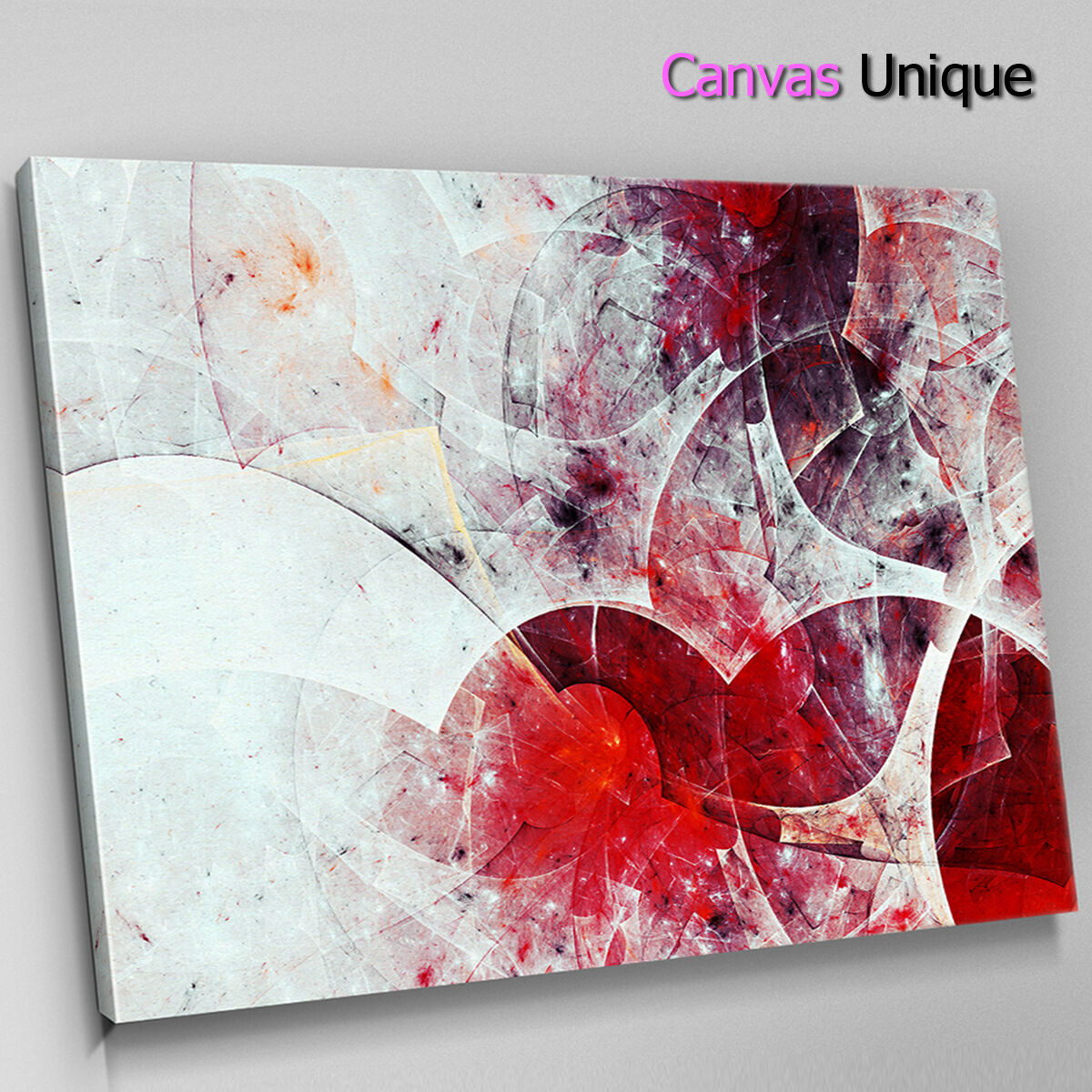 AB1294 rot large modern design Abstract Canvas Wall Art Framed Picture Print