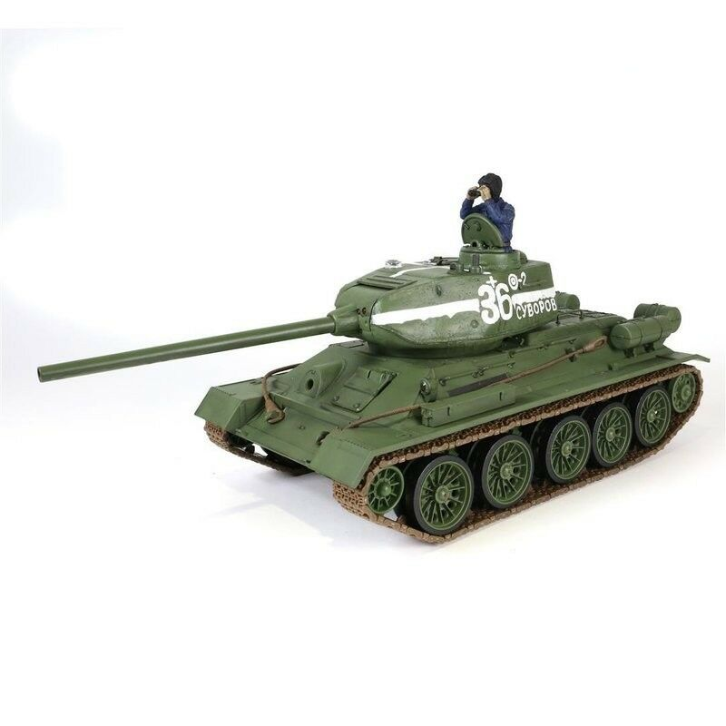 RC char 1:24 1:24 1:24 Forces of Valor russe t-34/85 IR-Combat System 2,4ghz e934fb