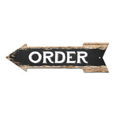 AP-0032 ORDER Arrow Street Tin Chic Sign Name Sign man cave Decor Gift