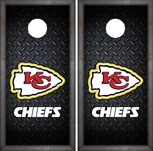 Kansas City Chiefs Cornhole Wrap Nfl Luxury Game Skin