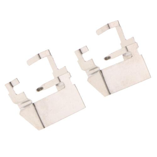 2Pcs H1 LED Headlight Light Bulb Adapter Holder Retainer For Ford Focus MK3