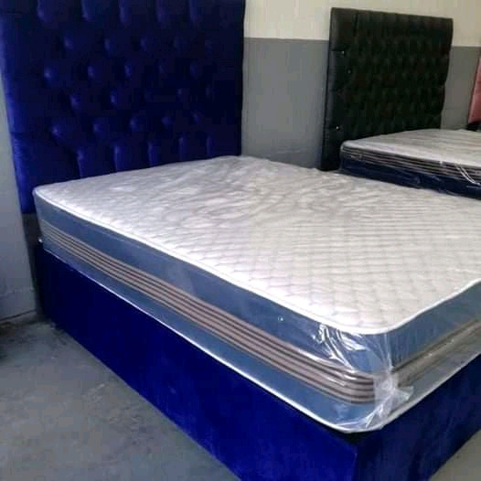 Classic double beds
