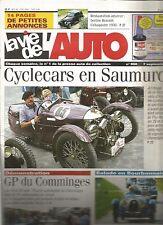 LA VIE DE L'AUTO N°950 RESTAURATION : BERLINE RENAULT CELTAQUATRE 1938