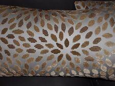 Schumacher throw pillows KIKU SILK VELVET cut velvet fabric custom new PAIR