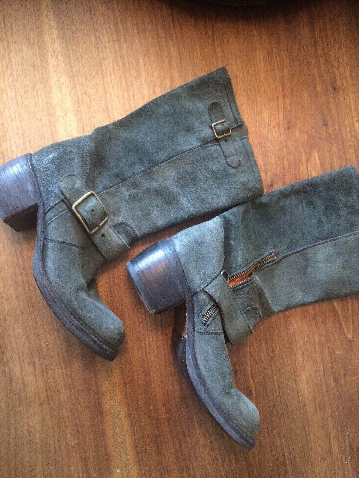 Fiorentini baker Blk Buckle Boot