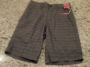 fb9b0f486d Mossimo Supply Co Men's Gray Striped Hybrid Board Shorts Size 28 ...