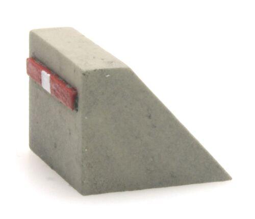 lackiert Artitec 322.015-1:220: Prellbock aus Beton NEU Fertigmodell OVP
