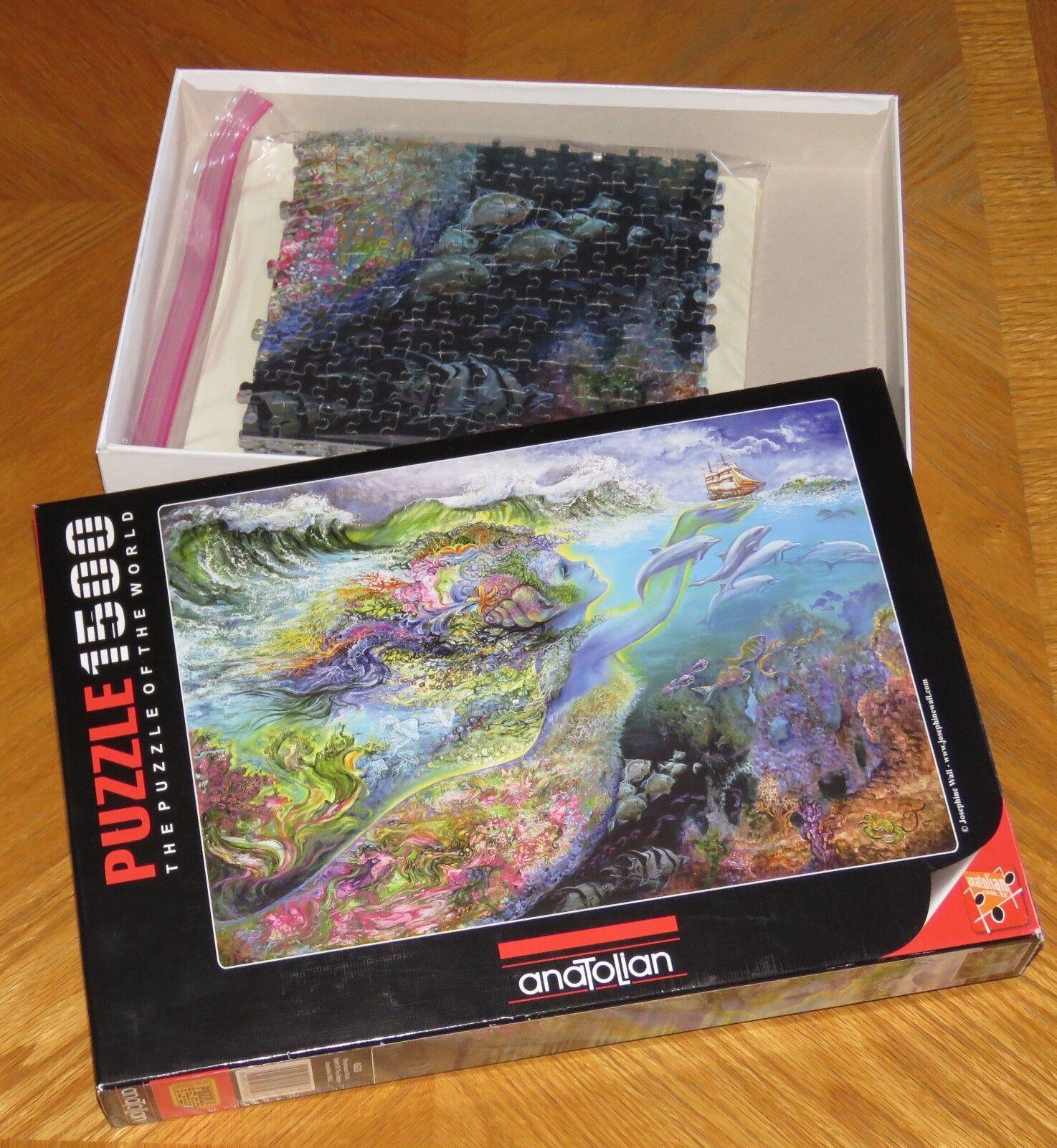Josephine Wall Art-Spirit of the Ocean-Puzzle 1500 pièces-assemblé