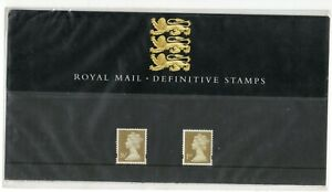 GB-1997-Machin-26p-amp-1st-Definitives-Presentation-Pack-No-38-VGC-stamps