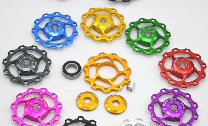 11T For SHIMANO XT /& SRAM Bicycle Pulley Jockey Wheel Steel Bearing Derailleur