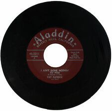 "PAT PATRICK and BAND  ""I AIN'T DONE NOTHIN' TO YOU""    R&B   LISTEN!"