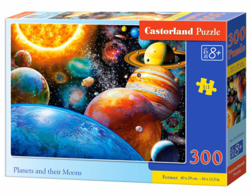 Castorland B-030262 Planets And Their Moons,Puzzle 300 Teile Neu
