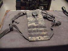 US Military ACU Molle II Hydration Carrier ,Bladde rDrinking Hose & Valve /Bite