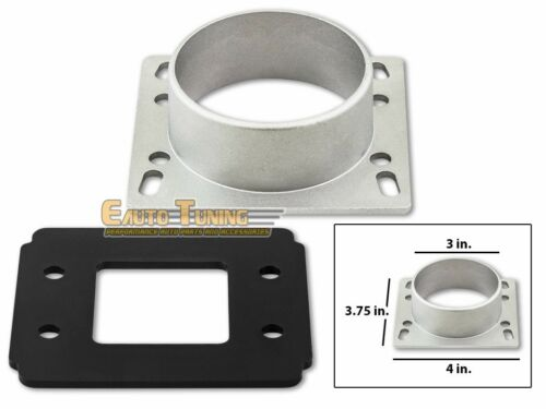 Mass Air Flow Sensor Intake Adapter Plate For 90-93 Cabriolet 1.8L L4