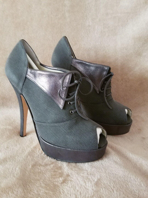 Paige  Terry de Havilland Emma Emma Emma Platform Heel kvinnor Storlek EUR 38 (US 8) Olive ny  bästa mode