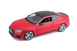 Bburago-1-24-2019-Audi-RS-5-Coupe-Diecast-Model-Sports-Racing-Car-Red-NEW-IN-BOX