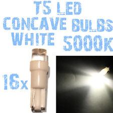 N° 16 Gloeilampen LED T5 5000K Wit Concaaf Koplampen Angel Eyes DEPO FK 2C3 2C3-