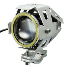1x U7 Cree LED 3000LM Fog Spot Light Lamp for CAR/BIKE/ROYAL ENFIELD- SILVER