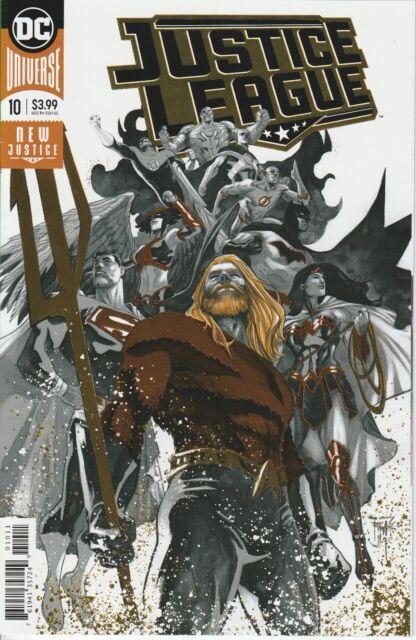 Justice League 10 DC Comics NM Foil Cover