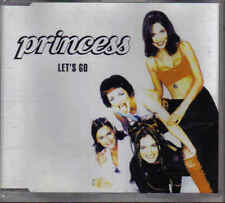 Princess-Lets Go cd maxi single eurodance holland