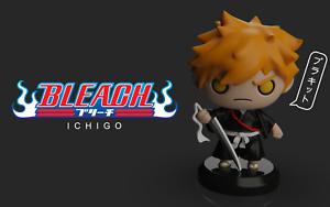 Bleach iCHIGO figure, Bleach ICHIGO miniature, Unpainted, Hollow, Anime
