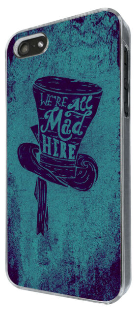 iphone 6/iphone 6 plus iphone 4 5 5S 5C Case Cover Funny Mad Hatter Hat Art