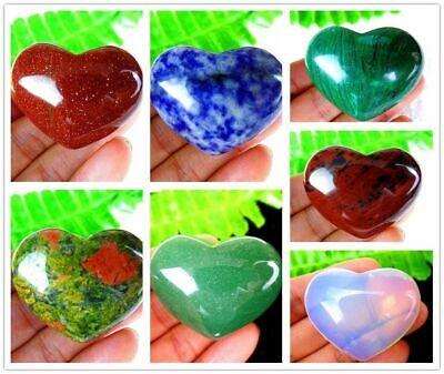 1Pcs corazón único materiales naturales hinchados artículos de la decoración 40*33*20mm B9911
