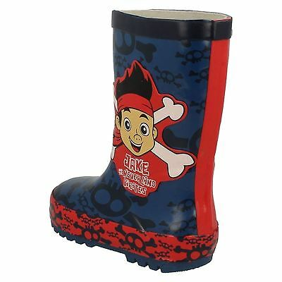 Chicos Disney Jake Y Los Piratas Del Neverland Wellingtons GU67776