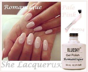 Bluesky Romantique Light Cream Pink French Manicure Gel