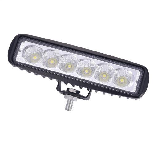 6x18Watt LED Arbeitsscheinwerfer Fernlicht SUV UTE Motorrad Rückfahrscheinwerfer