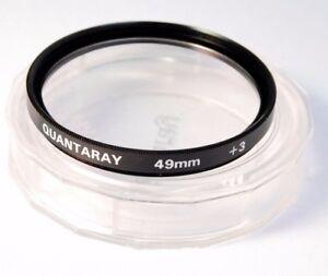 Used-Quantaray-49mm-3-Close-Up-Filter