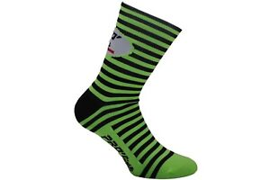 CALZINI-CICLISMO-PROLINE-CROP-CIRCLES-VERDEFL-CYCLING-SOCKS-1-PAIO-ONE-SIZE-NEW
