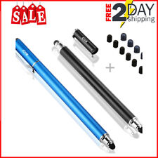 2 Touch Screen Pens 6 Rubber Tip Tablets iPad Phone Drawing Painting App Stylus