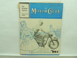 March 1962 The Motorcycle Magazine BSA Triumph Norton AJS Velocette B2009