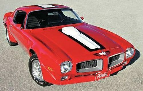 1972 Pontiac Trans Am Cardinal rosso 1:18 Auto World 998