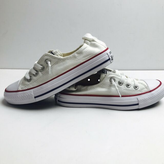 d039c6864b0c Converse All Star 537084F Shoreline Slip-On White Shoes Sneakers Women s US  5