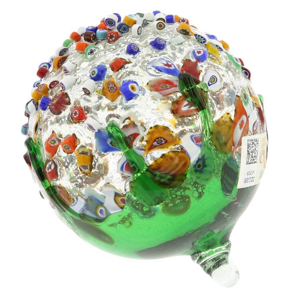 GlassOfVenice Murano Glass Venetian Mosaic Mosaic Mosaic Christmas Ornament - Grün ac4e40