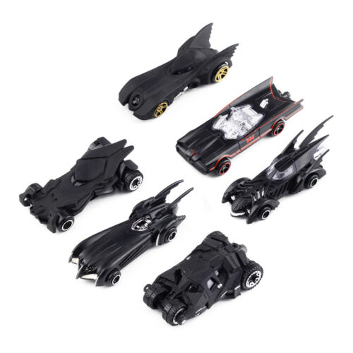 6stk//set 1 64 Batman Metall Modellauto Diecast Batmobile Spielzeug Sammlung