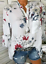 Women-039-s-Long-Sleeve-Casual-V-Neck-Tops-Blouse-Summer-Loose-Floral-Tee-T-Shirt thumbnail 10