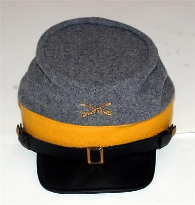 Civil War Kepi Cap Rebel Confederate Reenactment hat