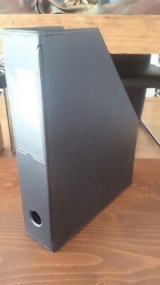 Farbe schwarz Stehordner 10 Stehsammler DIN A4