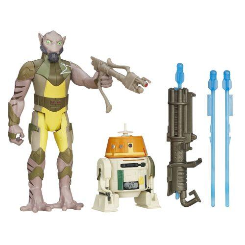 Star Wars Rebels 3.75 Figure 2-Pack Garazeb Orrelios and and C1-10P Chopper