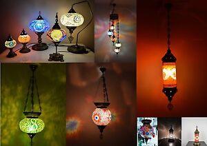 Mosaik Lampe Orientalische Lampe Mosaik Hangelampe Glaslampe