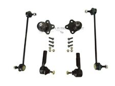 FORD FIESTA MK6 2002-2008 FRONT 2 BALL JOINTS +2 LINKS + 2 OUTER TRACK ROD ENDS